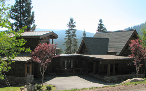 Flat Roof Skirt : Truckee flat roof construction roofing